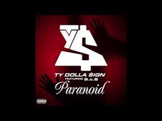 paranoid ty dolla sign lyrics - photo #1