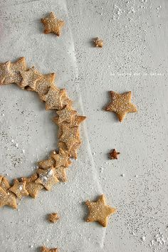 day18114 Waiting for Christmas : jour 18 Couronne d'étoiles