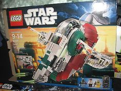 LEGO STAR WARS 8097 SLAVE 1 COMPLETE SET NEW IN OPEN BOX RETIRED