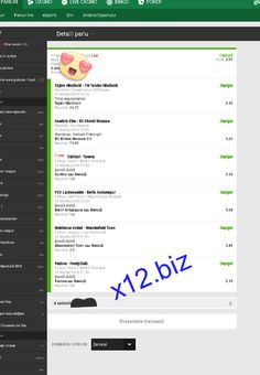 Winning prof from http://x12.biz  tips. Odds from yesterday 28 predictions with only 3 loses with over 89% accuracy.