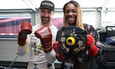 James Hinchcliffe and Claressa Shields