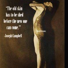 Joseph Campbell / quote / doitgirl  / Insight <3