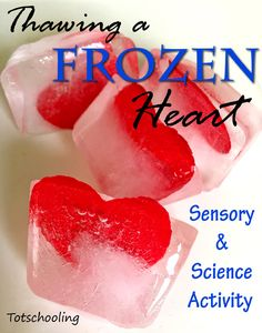 Thawing a Frozen Heart: Sensory Science for Kids (Love to Learn Linky Kids Learning Activities, Preschool Science, Science For Kids, Science Activities, Preschool Kindergarten, Toddler Activities, Friendship Theme, Friendship Activities, Friendship For Kids