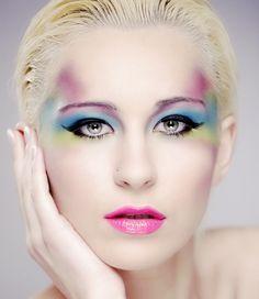Fantasy Makeup Ideas | Fantasy Eye Makeup in Colors » Eyeshadow Lipstick