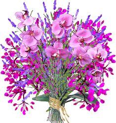 Glitters de flores - Imagenes con brillo Forajidos