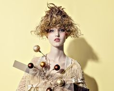 The hair design which is Dessert by Munenari Maegawa, via Behance