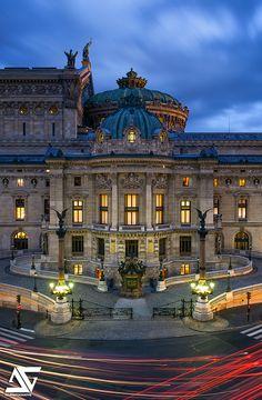 Opera Garnier, Paris (by A. Photographe) - Opera Garnier, Paris (by A. Paris France, Paris Paris, Paris City, Paris Opera House, Hello France, Beautiful Paris, Belle Villa, France Travel, Italy Travel