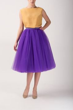 Tulle skirt, long petticoat, high quality tutu skirts, tulle tutu, tealength tutu on Etsy, $198.41 CAD