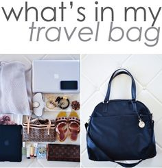 9to5Chic: Whats In My Travel Bag