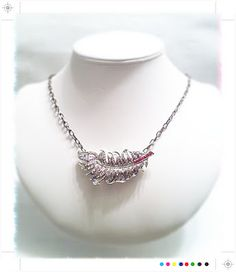 Up-Cycled Feather Necklace