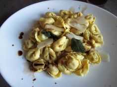 FORNELLI IN FIAMME: TORTELLI SAGE, BUTTER AND balsamic vinegar (VEGETA...