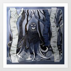 The Groke Art Print by telari - $20.00