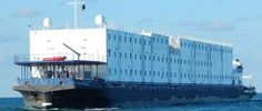 Wagenborg Offshore's accommodation barge VIVALDI is used at the Suez Canal Expansion project