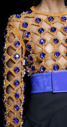 Balmain SS 2016 Fashion Show & More Luxury Details