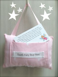 Tooth fairy pillow #dental #teeth #smile