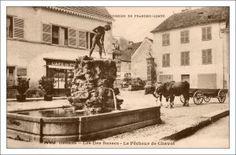 Carte postale ancienne d'Ornans