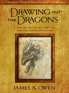 Making a choice is like drawing a dragon...    This book is POWERFUL!    Told from his own life-story the author helps us understand that the choices we make every day matter!    James A. Owen is an artist and started selling his books when he was just six-years-old.     later in life, and after being rejected by many companies, he started his own company...and sold some more.    Then one day he was involved in an auto accident and the results were such that his drawing hand was smashed.