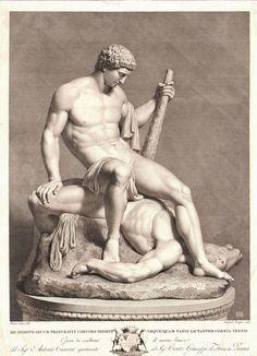 Theseus vanquishing the Minotaur | Antonio Canova