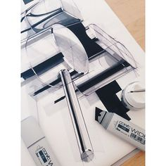 How to render chrome with @copicmarker #wide and #copic #opaquewhite…