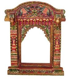 I adore the ornate details of Rajasthani decor Painted Drawers, Painted Doors, Hand Painted Furniture, Furniture Decor, Interior Paint, Interior Decorating, Indian Home Decor, Wooden Art, Mural Art