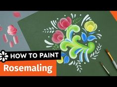 Learn more about the Norwegian art of Rosemaling from local rosemaler, Karen Hankee. Listen as she gives the history and even a quick painting lesson.