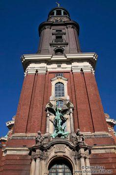 St. Michaelis church in Hamburg (Michel)