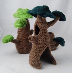Crochet Pattern - Fairy Hideaway - PDF. $5.00, via Etsy.