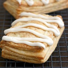Apple Cinnamon Toaster Strudels Homemade Yummy!