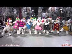 Snowman Nae Nae - Thursford Christmas Spectacular - YouTube