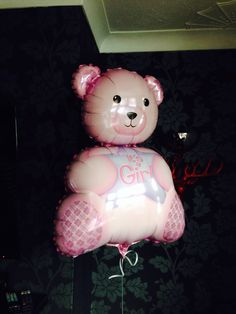 Fab baby shower balloon