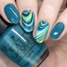 What's Up Nails Spring Stamping Plate and Water Decals >> Nail Polish Society