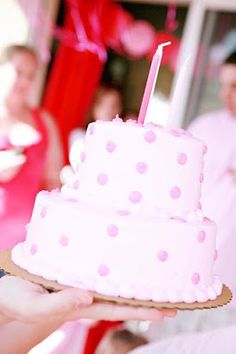 The TomKat Studio: {Real Parties} Pretty in Pink 3rd Birthday Party!