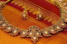 Quintessential piece of South-Indian jewellery- The Manga Malai