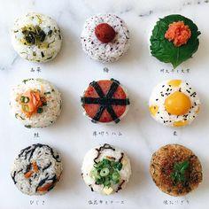 Onigiri Recipe, Asian Cookbooks, Japanese Food Sushi, Bento Recipes, Rice Balls, Aesthetic Food, Cute Food, Food Presentation, No Cook Meals