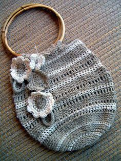 roberta_filava_filava: [Crochet]Una borsa così naturale..poche regole..e qualche segreto!   <3