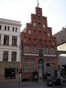 Schiffergesellschaft, lübeck, germany