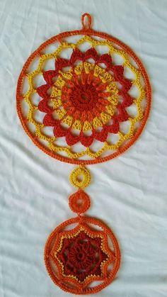 Mandala Yarn, Crochet Mandala Pattern, Crochet Lace Edging, Freeform Crochet, Doily Patterns, Crochet Chart, Crochet Basics, Love Crochet, Crochet Patterns
