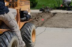 Irrigation Incorporated provides trenching and boring services, call (440)935-1182