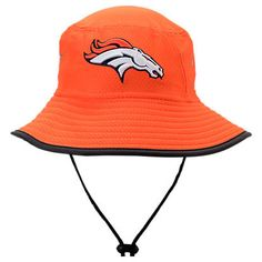differently b15f4 734e5 New Era Denver Broncos NFL 2017 Training Camp Official Bucket Hat
