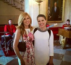 my two favs-Connie Britton & Sophia Bush