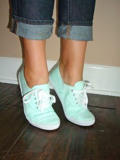 Mint green shoes! I need these