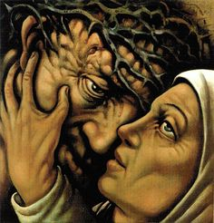 The Stations of the Cross - Jesus Meets Mary, His Blessed Mother by Peter Howson