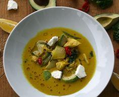 Supersuppe med pak choi, kylling og gurkemeie….. helse i hver munnfull