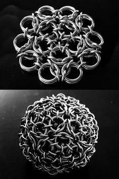 CHAINMAILLE WEAVES AND PATTERNS...that go on and on....