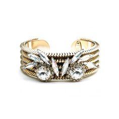 DANNIJO Natasha Bracelets ($320) ❤ liked on Polyvore