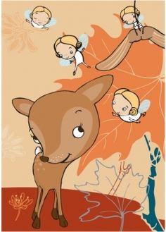 Uusi peikonpojan postikortti - kuva Terese Bast  ::::  New Peikonpoika postcard - illustration by Terese Bast    Http://peikonpoika.fi