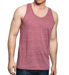 Tank Top - Red - Lifestyle