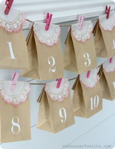 12 Ways to Countdown to Valentine's Day! @Jenna Ubbenga thought you better have a countdown, LOL.