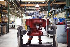 ©Be360images - Industrial Photography -  Worker at Wartsila Italia S.p.a. - Trieste Plant