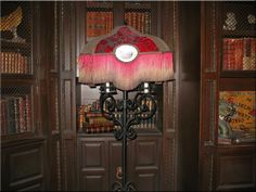 TowerofTerror Library Expanded by WDWParksGal-Stock on DeviantArt Haunted Props, Haunted Hotel, Tower Of Terror, Walt Disney World, Halloween Party, Balloons, Chandelier, Ceiling Lights, Inspiration